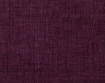 Heath in Eggplant for Alexander Henry #6883-S by 1/2 yard