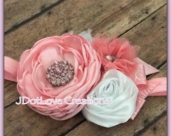 Gorgeous Handmade Pink Headband