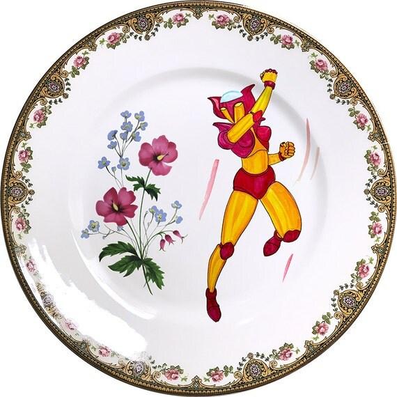 Afrodita A - Vintage Porcelain Plate - #0464