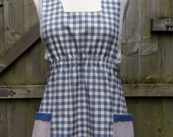Crossback Pinafore Japan Style Ladies  Apron