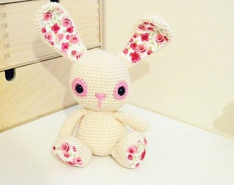 Rosie Rabbit crochet toy