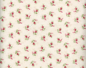 Fabric Freedom 'Reduced Price' F900-1 English Teatime Rosebud Patchwork Quilting