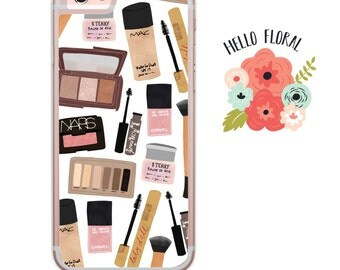 Essential Makeup Kit Bloggers iPhone Samsung Galaxy iPod Touch hard case