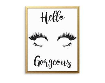 Hello, Gorgeous Eyelashes