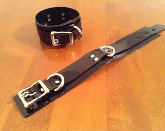 Locking Vegan Ankle Cuffs (pair/sm-med)