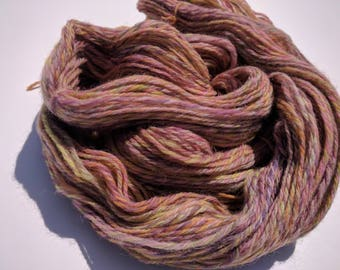 Handspun Colombia/Rambouillet yarn, 2 ply DK weight, 2.9 oz 217 yards