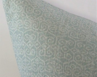 Sawyer Pillow Cover in Moonstone Blue