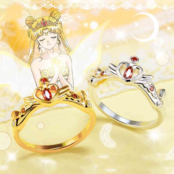 Sailor Moon Engagement Ring Anime