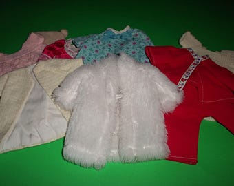 Medium Size 1960's/70's Vintage Doll Clothing Lot 2