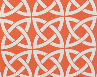 Drapery Fabric, Upholstery Fabric, Orange Outdoor/Indoor Fabric, Umbrella Fabric, Shower Curtain Fabric, Deck/Patio, Home Decor Fabric