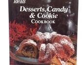 ON SALE Dessert Cookbook, Candy Cookbook, Cookie Cookbook, Vintage Cookbook, Classic Recipes, Housewarming Gift