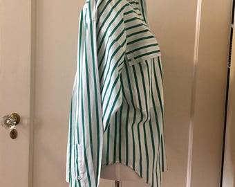 Baggy Striped Vintage Blouse
