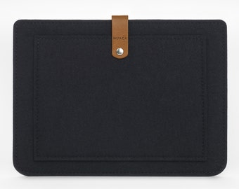 iPad Air Sleeve - iPad Air Case - iPad Cover - iPad Case - Felt Case - Leather Cover