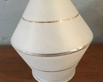 Atomic Mid Century Modern Rocket Glass Light Shade