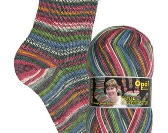 Mein Sockendesign: Eisenbahnromantik (Railroad Romance) 4 ply Sock Yarn - 9377 by Opal