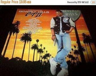 Save 30% Today Vintage 1987 Vinyl LP Record Beverly Hills Cop II Original Motion Picture Soundtrack Excellent Condition 2872