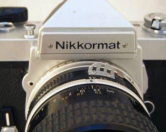 Nikon Nikkormat FT3 35mm SLR film camera