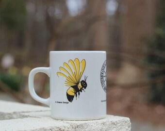 Vintage Entomological Society of America Mug / Entomologist Gift / Entomology Mug / Beekeeper Mug / Honeybee Mug / Entomologist Mug