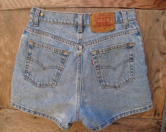 Levis denim shorts | Etsy