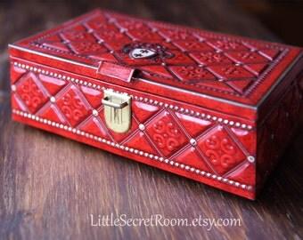 "Vintage metal tin Box / metal container / belgian ""Chocolate Jacques"""
