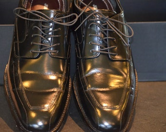 Patent Leather Mens Shoes, Size 8