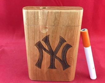 New york yankees Dugout w/ bat One hitter