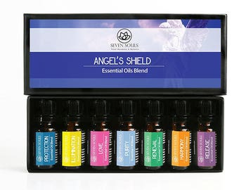 Angel's Shield Essential Oils Blend. Therapeutic grade. These can be Used for Many Holistic Therapies, Contact Angels and Energy Balancing.