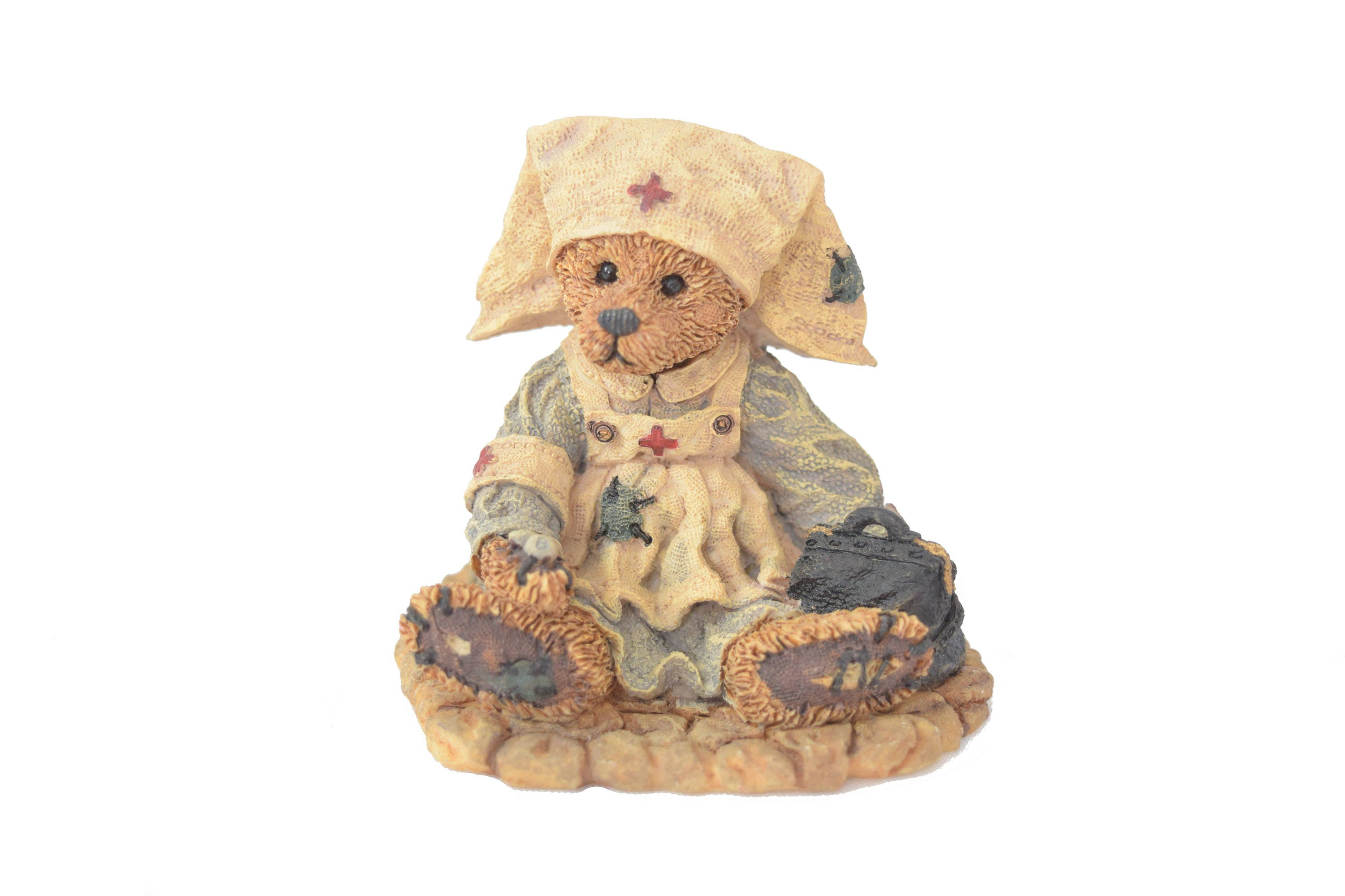 Nurse Resin Bear Figurine Collectible Teddy Figure