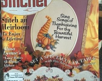 The Cross Stitcher Magazine October 1999