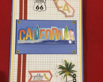 California themedDecorative Notepad