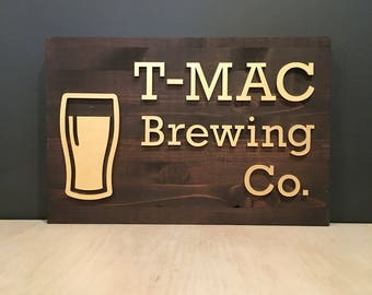Customizable Brewery / Brewing Sign