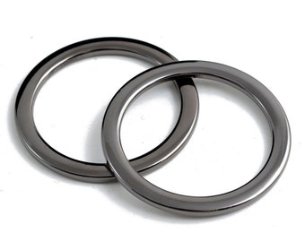 "2""Metal O-Ring Belt Buckle, Fashion Jewelry by 2 pcs, TR-11204"