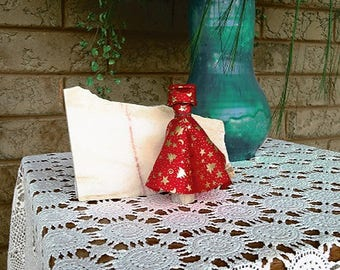 Miniature Dress Form with Ball Gown
