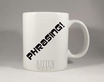 Archer | TV Series | Sterling Archer Quotes | Phrasing! | Can't? Or Won't? | Read A Book Once In Your Life | Coffee Mug