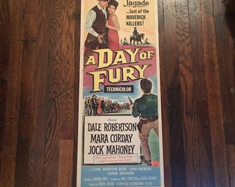 A Day of Fury - Original Folded Theater Poster