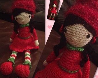 Handmade Christmas doll