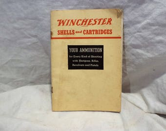 Winchester Shells and Cartridges Reference Guide, 1938 Vintage Shooting Manual