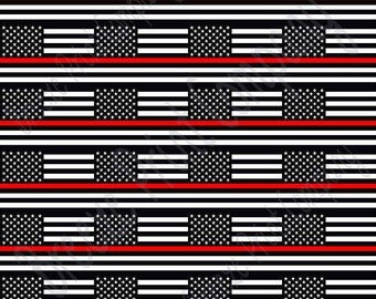 Flag craft  vinyl sheet, HTV, adhesive vinyl pattern black and white with red line 24 2x3 inch flags per  sheet, HTV, adhesive vinyl HTV2806