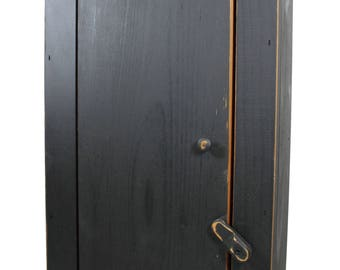 Country Rustic Simple Cabinet with Distressed Finish