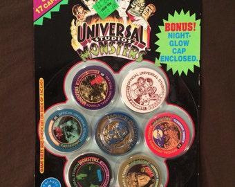 Universal Studios Monsters Imperial Slammer Whammers Pogs Milkcaps Dracula Slammer New NIP