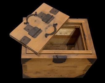 19th Century Japanese Safe Box - FREE SHIPPING