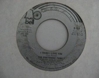 David Cassidy & The Partridge Family - I Think I Love You -  Circa 1970