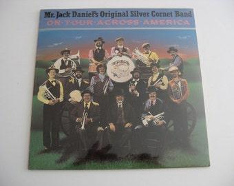 New Factory Sealed - Mr. Jack Daniel's Original Silver Cornet Band - On Tour Across America - Circa 1985