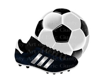Soccer Sports Birthday - Edible Cake and Cupcake Topper For Birthday's and Parties! - D21997