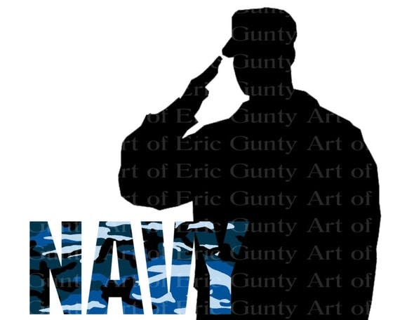 Navy Military Birthday - Edible Cake and Cupcake Topper For Birthday's and Parties! - D21928