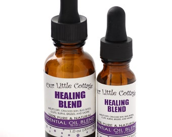 Natural Healing Blend, Healing Blend, First Aid Essential Oil Blend, Wound Care, Healing Blend, Cuts and Bruises, Ouch, Neosporin,