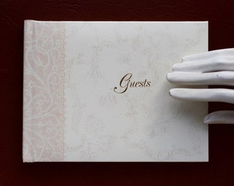 Wedding Guest Book - Williamsburg - C R Gibson - Made in USA