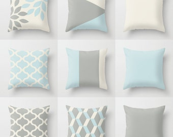 Neutral accent pillows Pillow Covers Neutral Decor Love