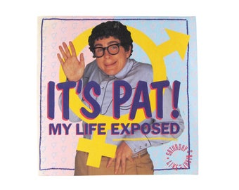 Vintage It's Pat My Life Exposed Book SNL Saturday Night Live Julia Sweeney 90s