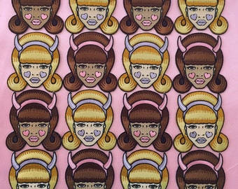 Doll Face Patch -Girls Club